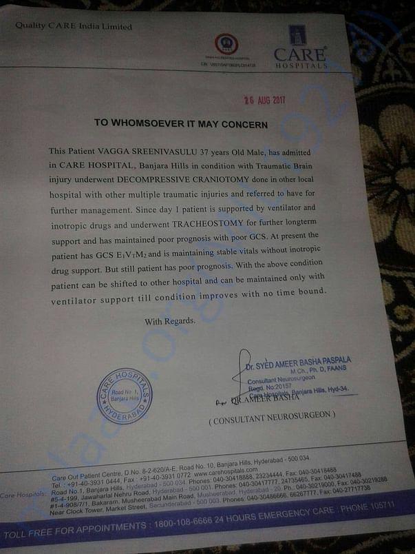 Doctor Letter Enclosed
