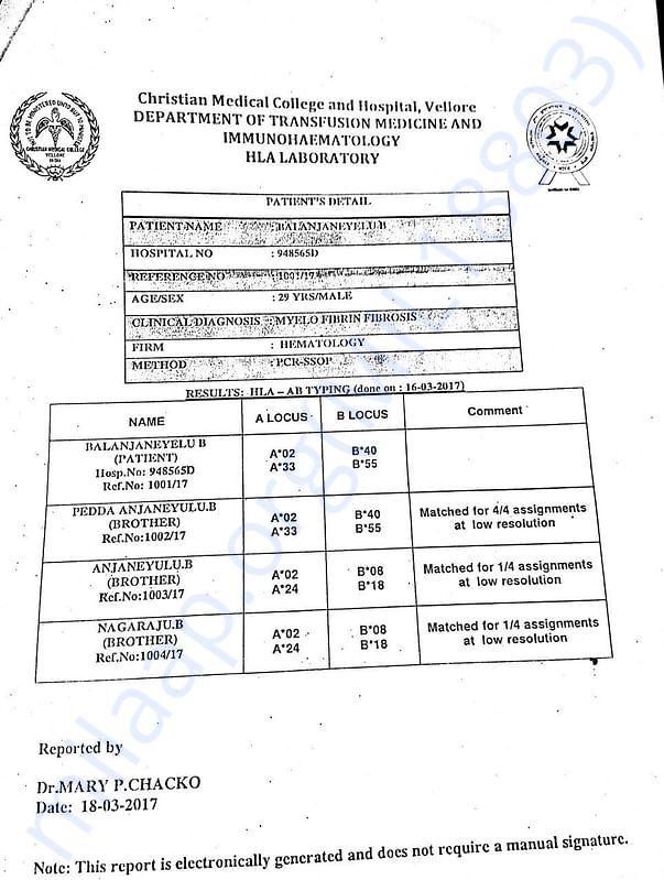 IMMUNOHAEMATOLOGY Report