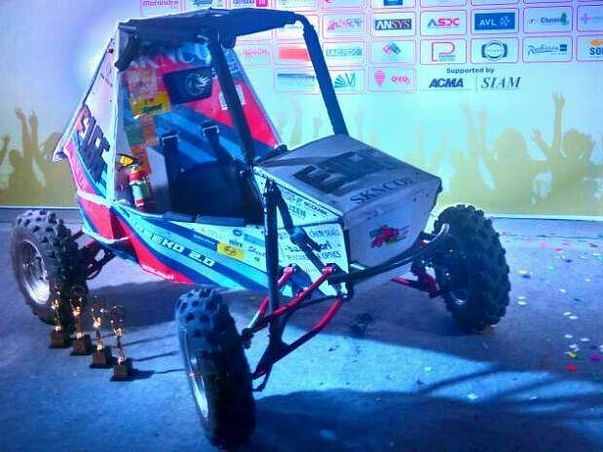 Need your support to fund our dreams in SAE India Baja competition