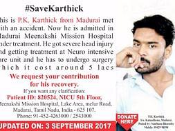 #SaveKarthick