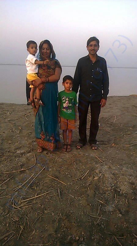 Ajay with his family 3 years back. No one thought this would happen.
