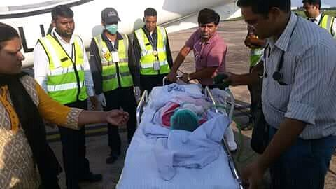 Air Ambulance to Delhi Sir Gangaraam Hospital