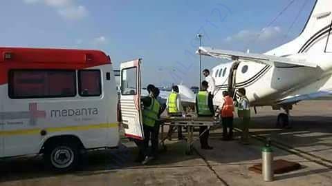 Air Ambulance to Delhi Sir Gangaraam Hospital
