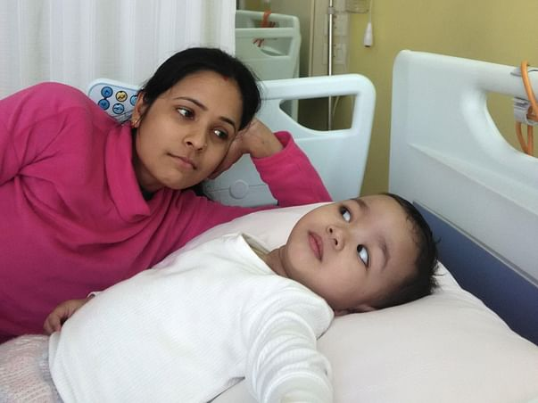 Help Baby Saanvi raise funds to get stem cell transplantation