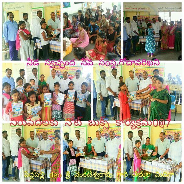 Books donation prgms in diffrent school