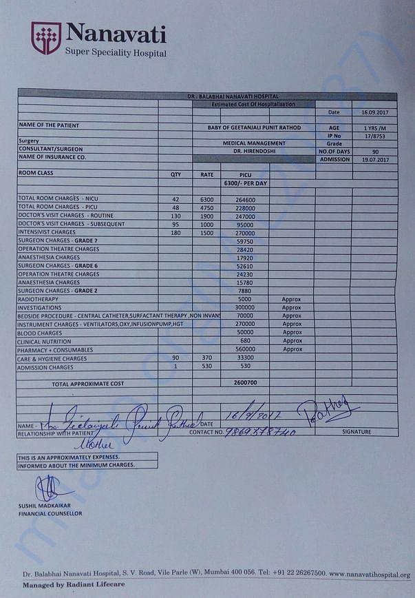 Hospital-Bill-Estimate