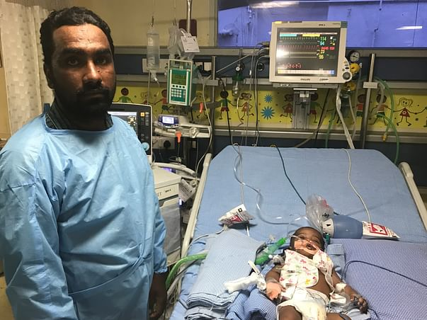 Help 4-month-old Sufiyan Who Has Been Struggling To Breathe From Birth