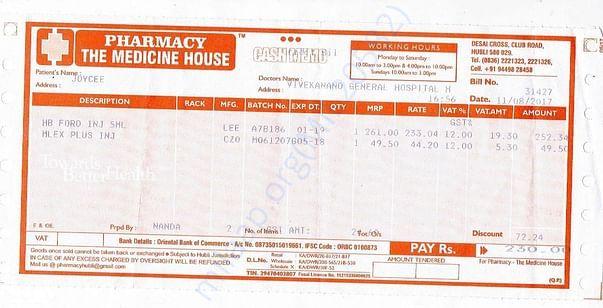 Medical Bills 2
