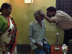 Free Eye Operation Camp at Village