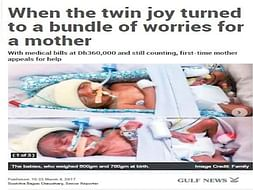PREMATURE TWIN BABIES NEED HELP