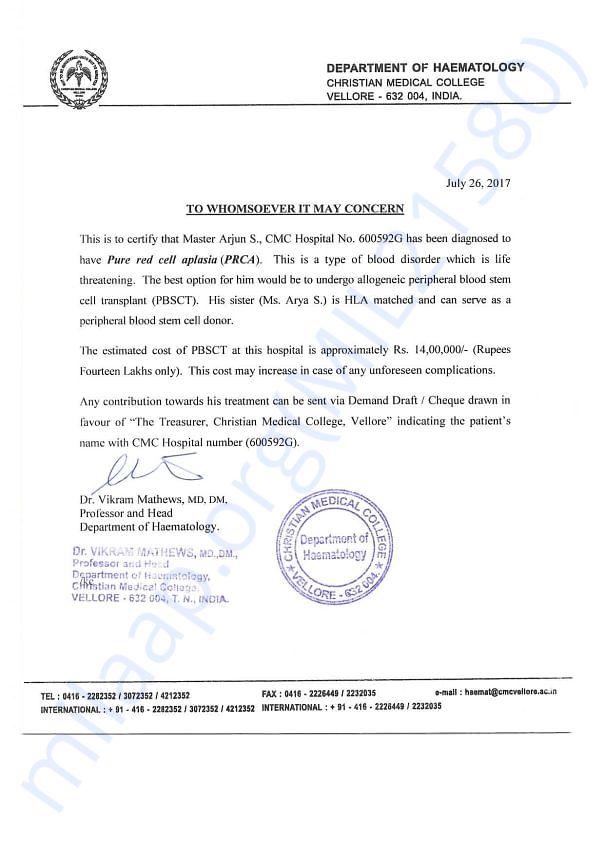 Estimate Certificate