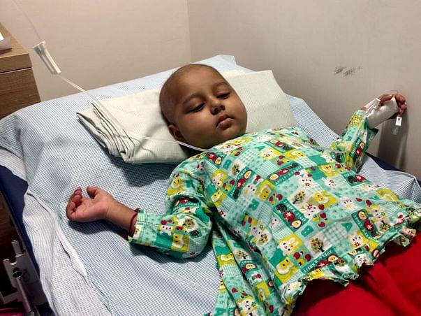 Help 3-year-old Nishan fight cancer