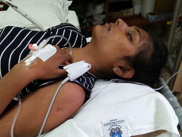 SAVE SIRISHA FIGHTING BRAIN HAEMORRAGE