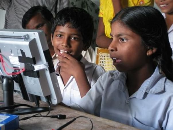 Help poors to be computer literate