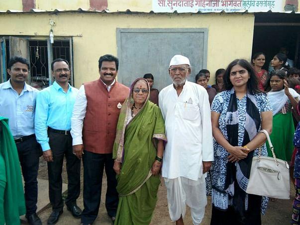 Toilet Building For Vanvashi Girls Hostel Run By Sunanda Tai Bhagavat