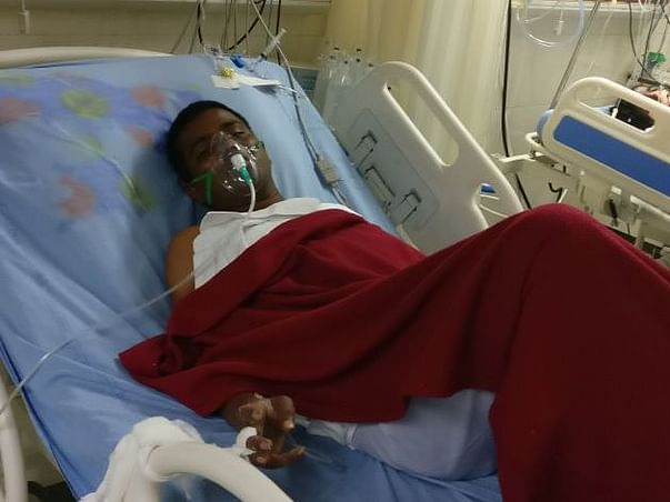 Please help Anush who got injuried in accident