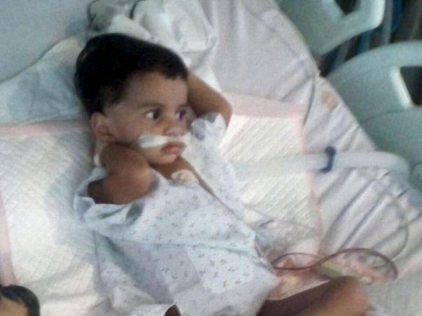 Help 1-year-old Aaradhya fight severe Pneumonia