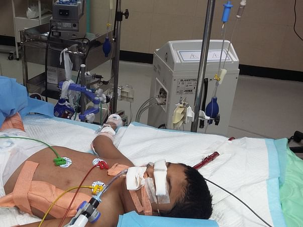 6-year-old On Artificial Lung Machine Is Fighting To Stay Alive