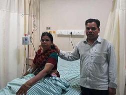 56-year-old Vipulakshi urgently needs a bone marrow transplant