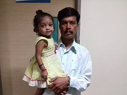 2-year-old Manogna with severe heart disease needs to undergo surgery