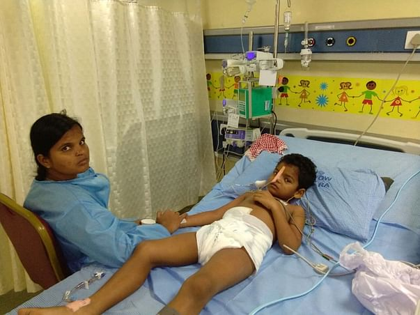 Help 5-year-old Balaeswar fight severe stomach bleeding