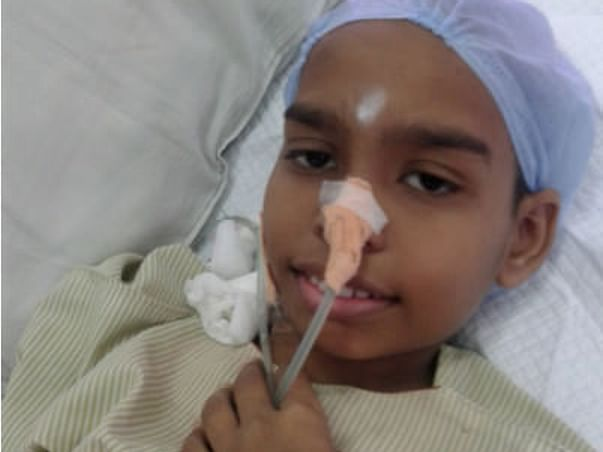 Help Sarthak To Fight Hemophilia A - Causing Excessive Bleeding