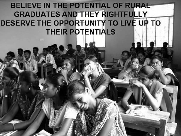 Help India's rural graduates achieve their dreams