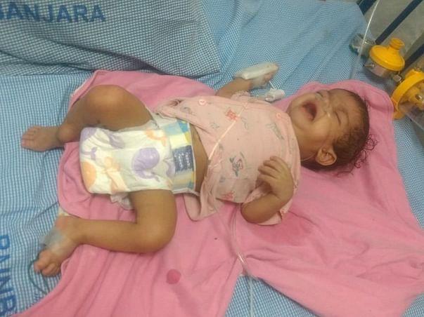 Help 11-month baby Jai battle tuberculosis
