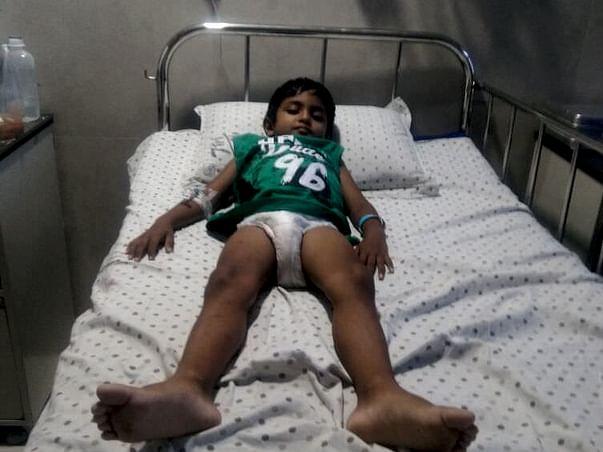Help 5 Year-Old Kalyanram Fight Blood Cancer