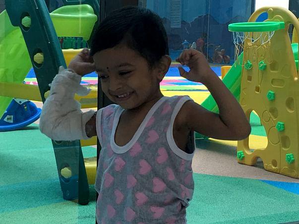 Help 3-year-old Pranav fight blood cancer
