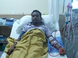 Sanjit suffers from kidney failure and urgently needs a transplant