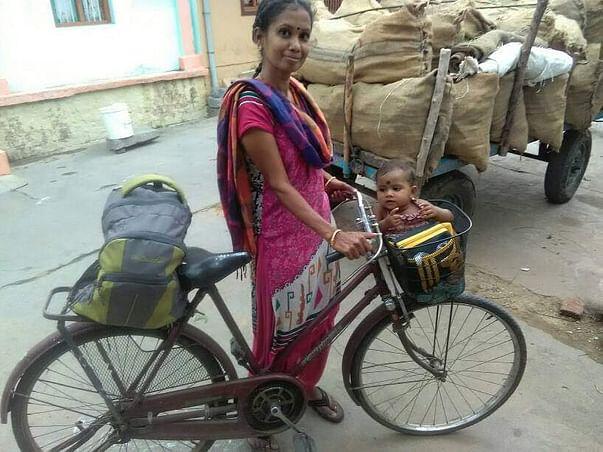 Help fund beautician & single mom Sathiya's entrepreneurial dream!