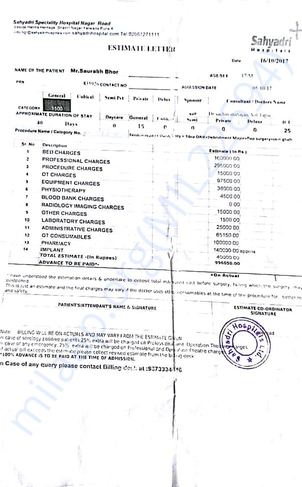 Medical expenses doc