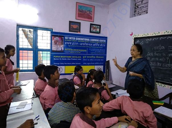 Inter Generational Learning Centre at Sector-12, Noida