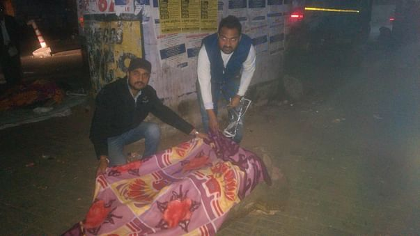 Blanket distribution campaign