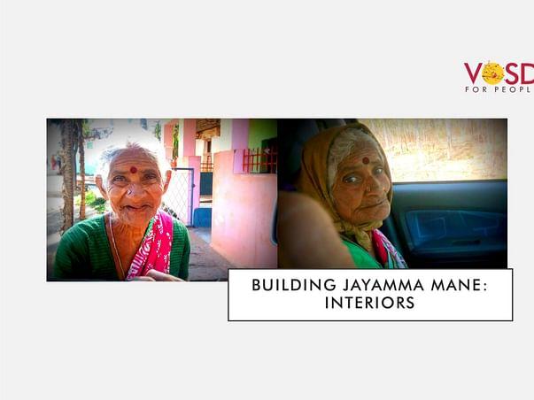Building Jayamma Mane: Interiors