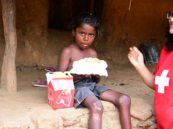 Celeb This New Year with 2000 Tribal Children Gifting a Mc Happy Meal
