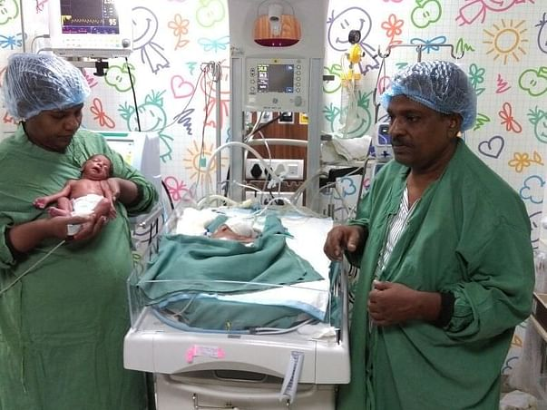 Help Sunita's new born twins who are fighting for their life
