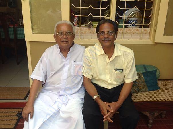 Chairman with Sri Lankan Gandhi