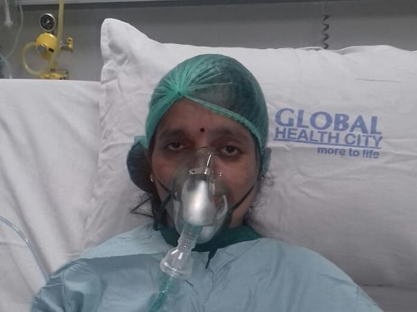 Help 41-year-old Asha fight severe lung disease