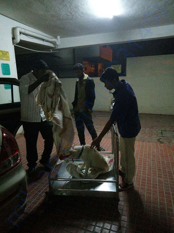 Day reached to hospital in Bengaluru