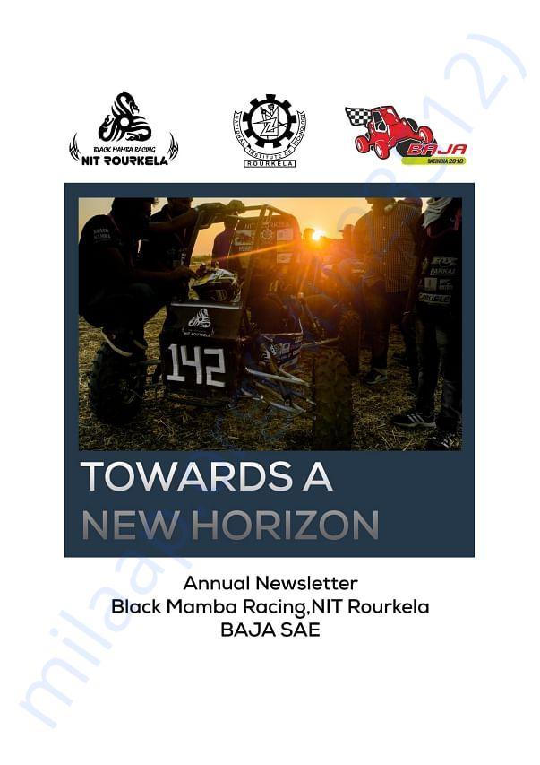 Newsletter - Team Black Mamba Racing