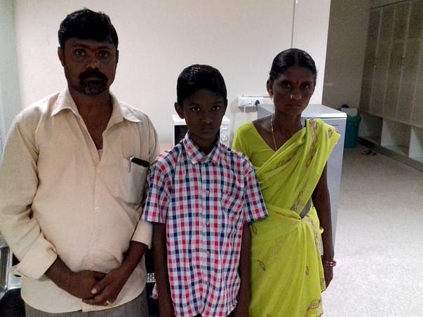 Help 11-year-old-Gurappa fight a severe heart disease