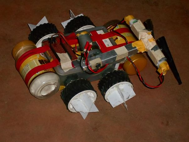 Help our all terrain amphibious bot project to succeed.