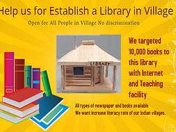 Help Us Establish A Library In A Village