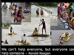 Encourage Flood Victims to Rebuild their Lost Home