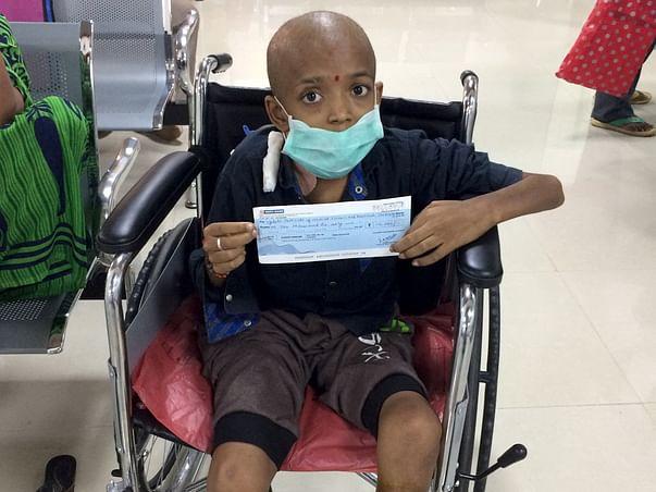 Help 13-Year-Old Aravindu Fight Cancer