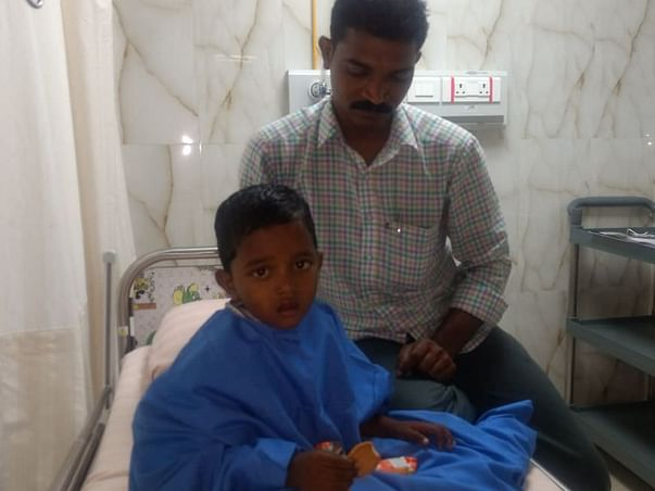Baby Shyam with severe stomach disease loses his mother to suicide