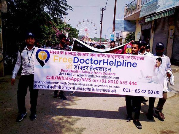 Health awareness rally in noida