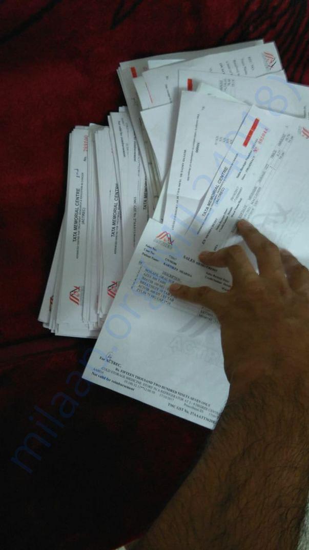 Bills from last 7 months